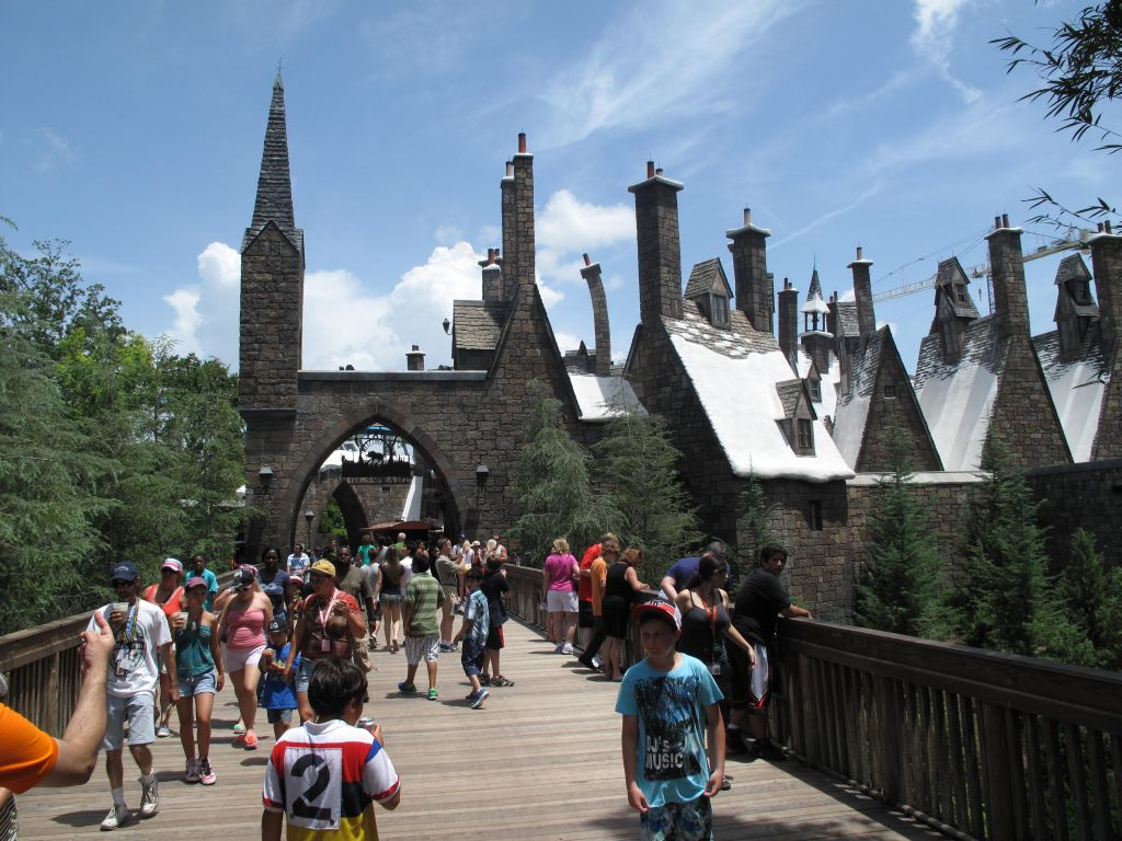 Her er landsbyen i Harry Potterland